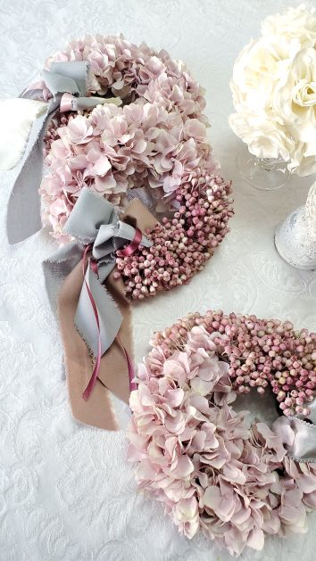 Smokey Pink Wreath
